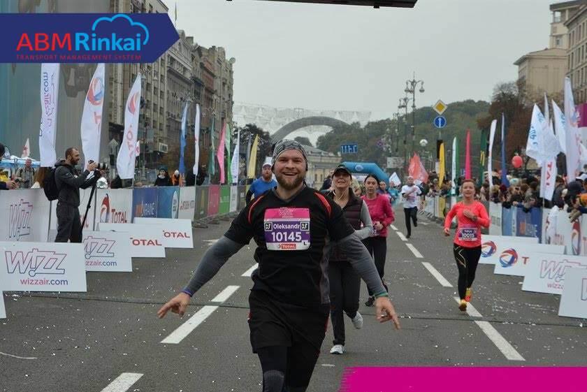 Команда ABM Cloud присоединилась к Wizz Air Kyiv City Marathon 2017