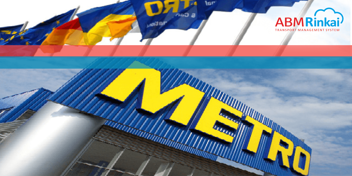 METRO Cash & Carry автоматизація маршрутів доставки на базі ABM Rinkai TMS