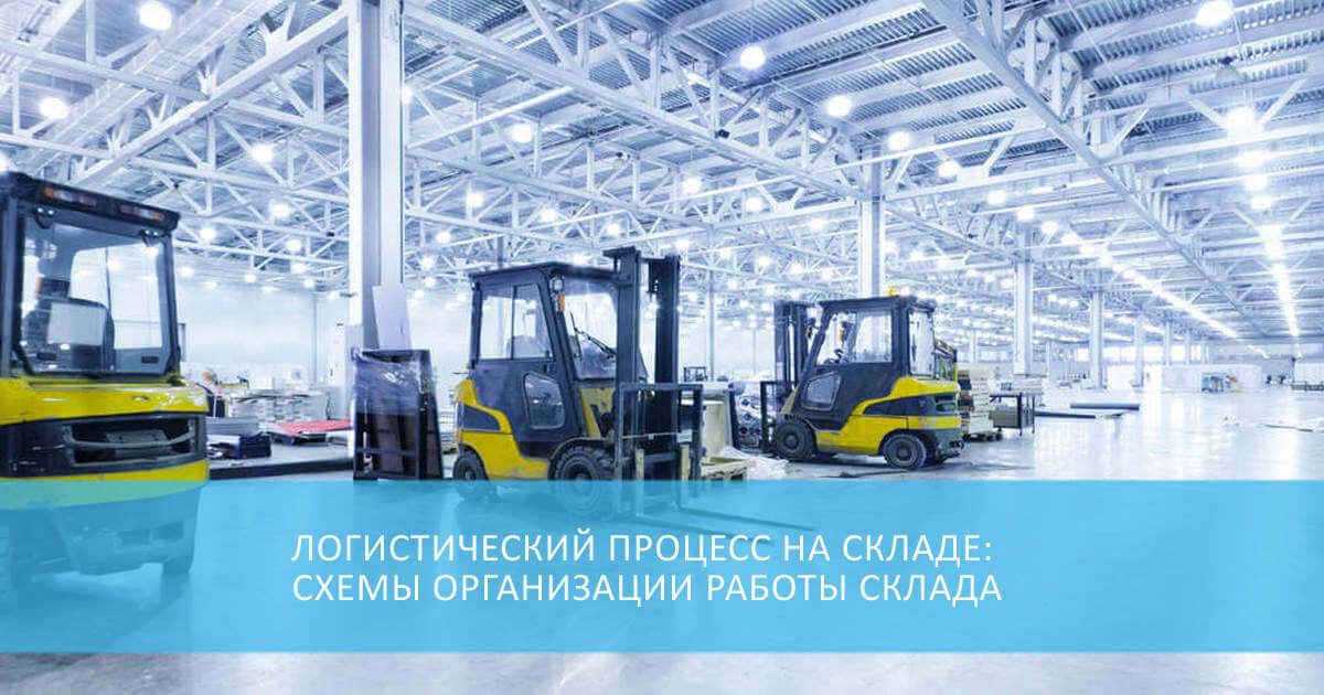 Логистический процесс на складе: схемы организации работы склада